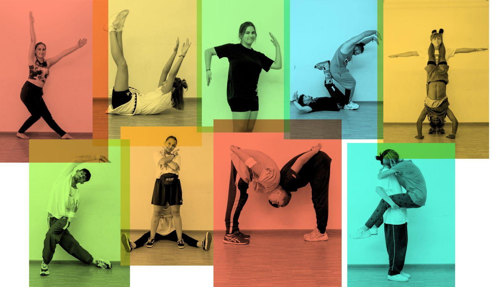"Collage zum Thema ""Crossover""."